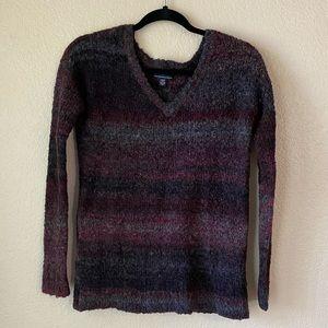 American Eagle wooly stripe sweater